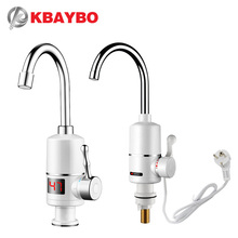Instant Hot Water Heaters 3000W Tankless Heater Electric Shower Heating Kitchen Bathroom