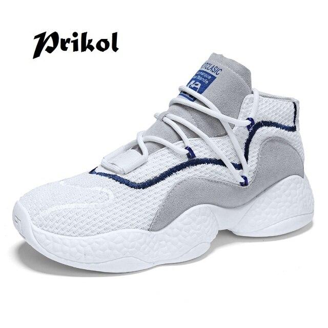 Prikol New Soft Luxury Brand Men Tennis Shoes Summer Sports Sock