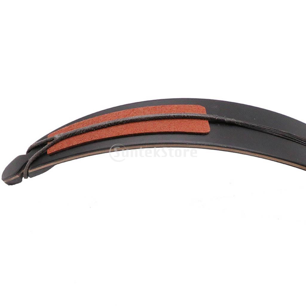 2pcs Recurve Bow Limbsaver Soft Rubber Bow Limb Vibration Dampener Pads Hunting