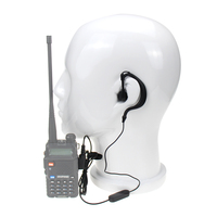 baofeng bf 888s יוניברסל Baofeng UV5R מכשיר הקשר אוזניות K Plug אוזניות עבור Baofeng UV5R BF-888S עבור רדיו Ham אוזניות Kenwood TK3107 (1)
