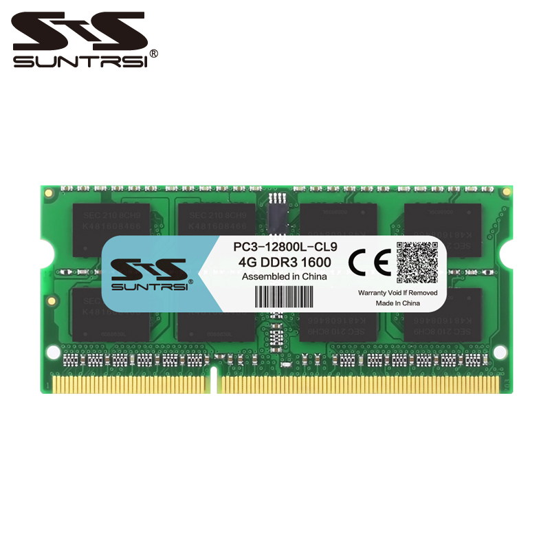Suntrsi <font><b>DDR3</b></font> 4gb Laptop memory <font><b>1600</b></font> <font><b>MHz</b></font> 1333Mhz 1.5V <font><b>memoria</b></font> <font><b>ram</b></font> <font><b>DDR3</b></font> for Notebook image