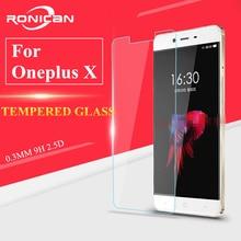 Glas Oneplus X Gehard Glas Voor Oneplus X Screen Protector Voor Oneplus X Glas Een Plus X Hd Beschermende Dunne film Ronican