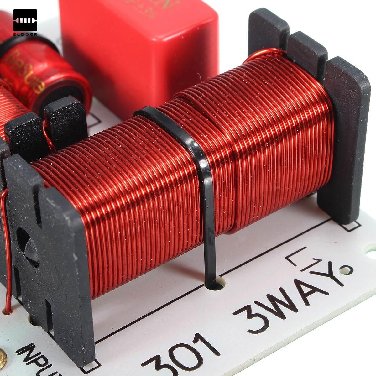 1 PC Nouveau Professionnel 150 W Multi Haut-Parleur Audio Diviseur de Fréquence 3 Way Crossover Filtres Composants Acoustiques