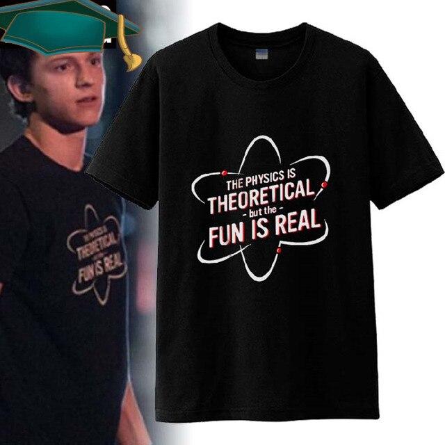 fef4e9a89 2017 Novo Filme do Homem-Aranha  Regresso A Casa T-shirt camiseta Homem