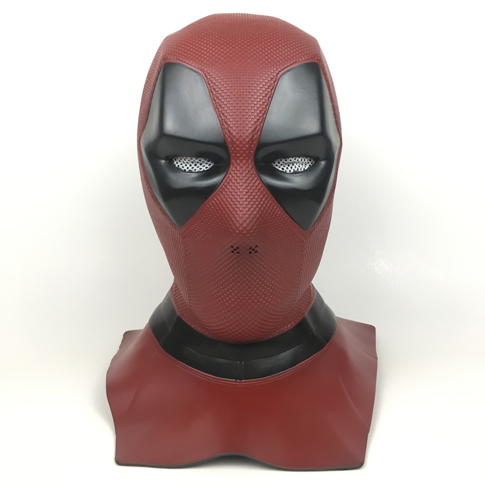 2018 New Film Deadpool 2 Maskers Cosplay Props Latex Volgelaatshelm - Carnavalskostuums