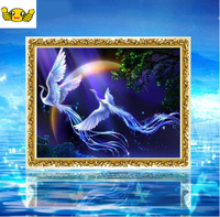 82 59cm Hand Acupuncture Package Fly Than The Phoenix Exquisite Printing Cross Stitch Living Room Bedroom