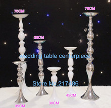 75cm ,Simple Designs Wedding Candle Holders Flower Bowl Wedding stage decoration(China)