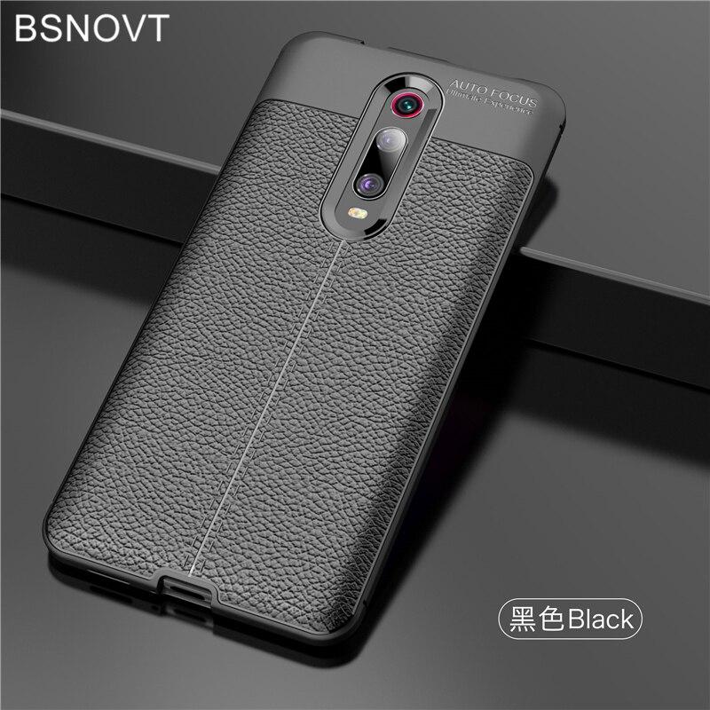 For Xiaomi Redmi K20 Case Soft Silicone PU Leather Cover Funda
