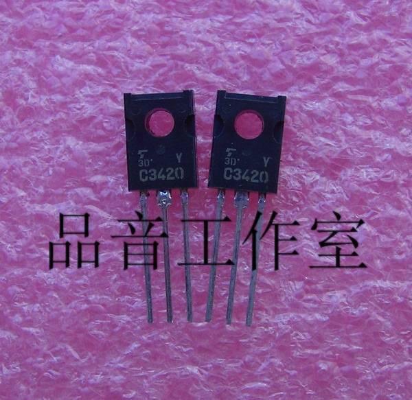 2018 hot sale 10PCS/30Pcs japan brand new original 2SC3420 C3420 Y file gold voice Audio electronics free shipping