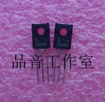 2018 hot sale 10PCS/30Pcs japan brand new original 2SC3420 C3420 Y file gold voice Audio electronics free shipping недорого