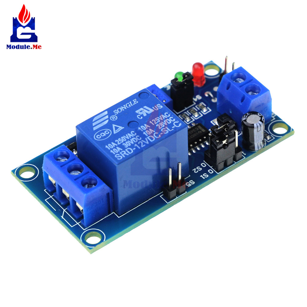 DC 12V Timer Delay Relay Adjustment Switch Controller Turn ON / Delay Turn OFF Switch Module Timer Control BoardDC 12V Timer Delay Relay Adjustment Switch Controller Turn ON / Delay Turn OFF Switch Module Timer Control Board