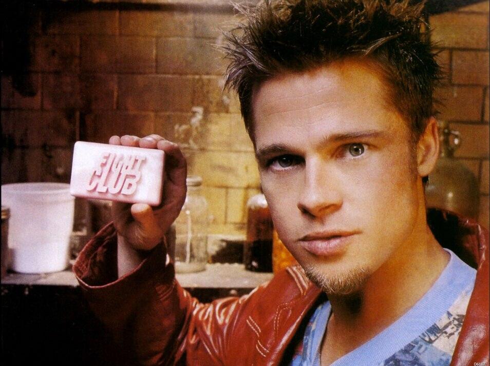 Tyler Durden Fight Club Brad Pitt Sabão Filme Art Enorme Impressão Cartaz  TXHOME D6187|fight club|brad pittprint poster - AliExpress