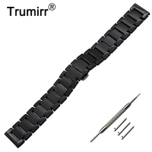 22mm Quick Release Ceramic Watch Band Tool for Vector Luna Meridian Xiaomi Smartwatch Huami Amazfit Strap