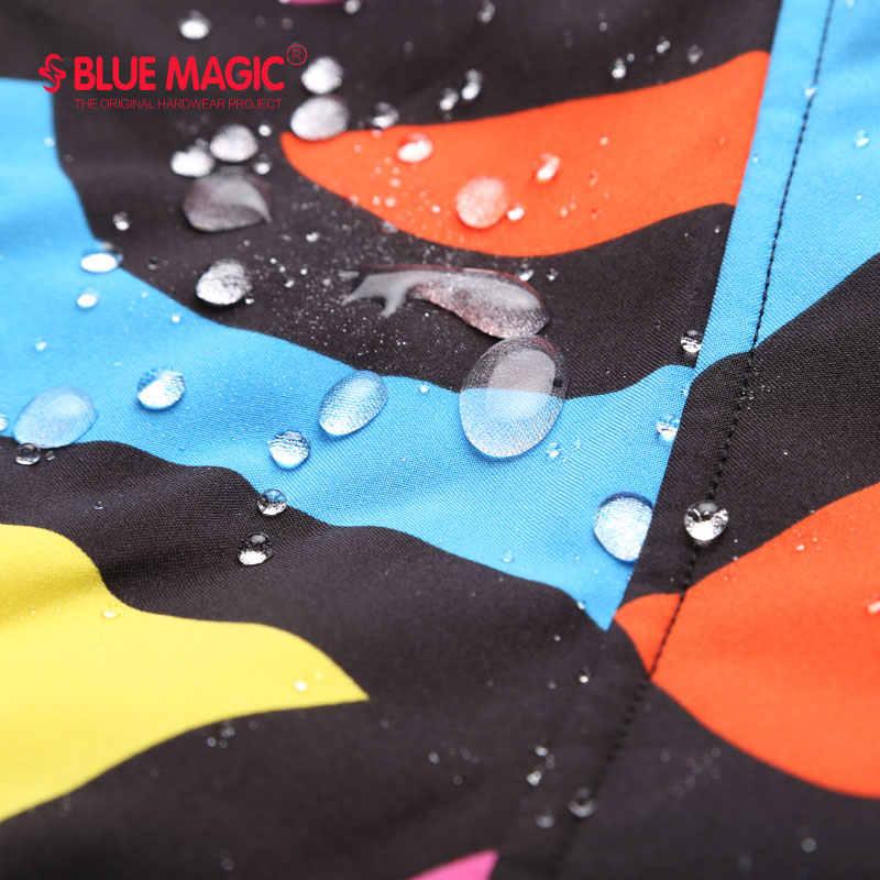 新到着スノーボードジャケットを bluemagic 女性スキースーツ冬の屋外防水雪のスーツ女性の摩耗スリムコート通気性