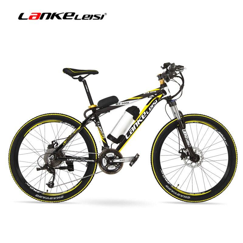 Mx2000d 500 Вт большой Мощность литиевых Батарея e велосипед, 26 дюйм(ов) Электрический велосипед 48 В 10ah горный велосипед, 27 скоростей ebik, дисковые ...