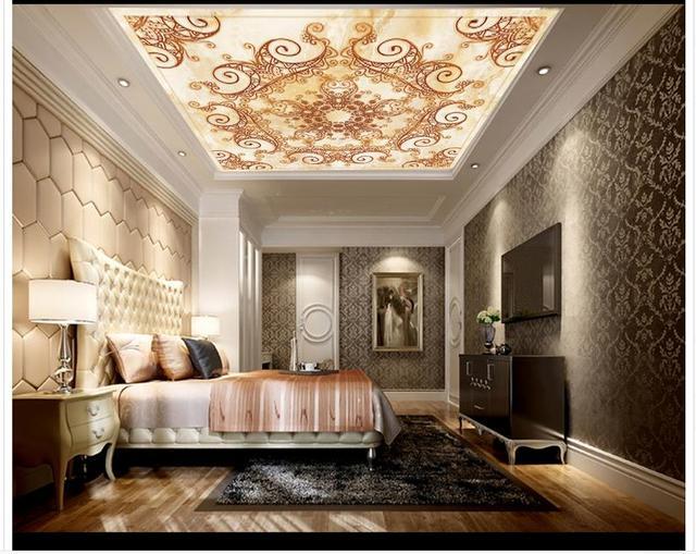 Buy 3d wallpaper custom 3d ceiling for 3d ceiling wallpaper