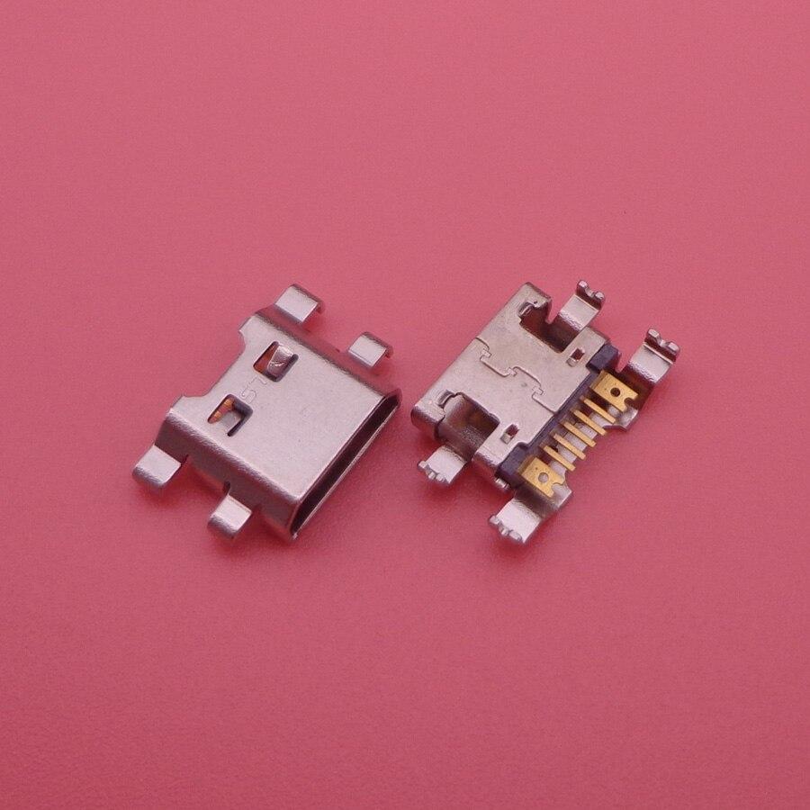 500pcs Micro mini USB Charger Charging Port For LG K10 K420 K428 k10 2017 X400 K121