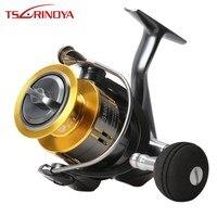Tsurinoya FS4000 5000 Spinning Fishing Reel 5.2:1 9+1BB Max Drag 11kg Wheel Fish Reel Molinete De Pesca Carp Reel Saltwater Reel