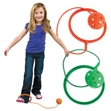 Fun Toy Soprt Ankle Jumping Ball Children Exercise Activities Jumping Ring Kids Outdoor Game Props Senses Training Sport Gifts
