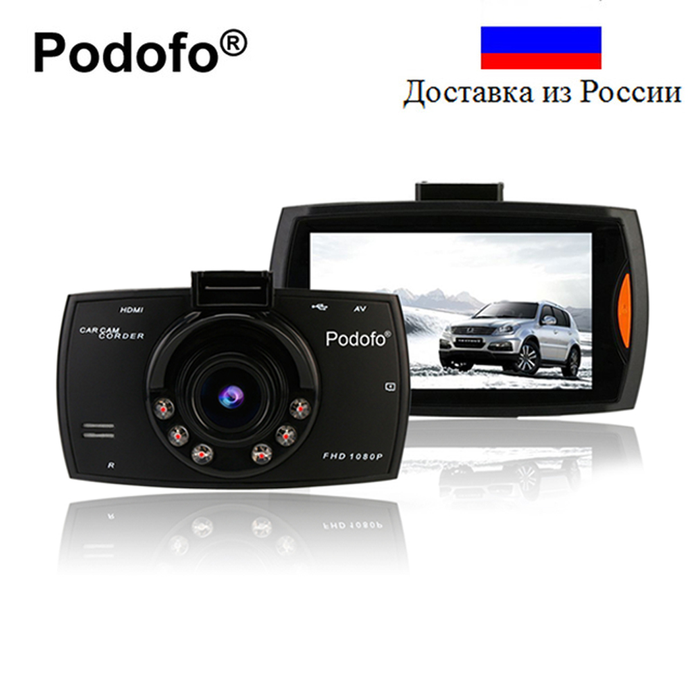 Podofo Car DVR font b Camera b font G30 Dvrs Registrars Dashcam Full Hd 1080P Video