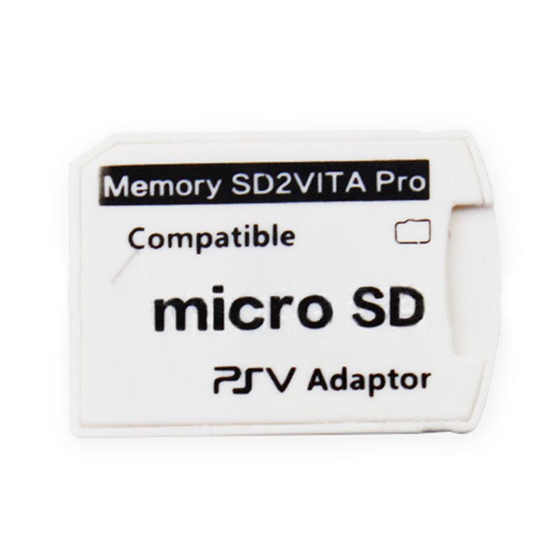 Wholesale White Memory TF Card Game Card Micro SD Card Reader For PSP Version 6.0 SD2VITA For PS Vita PSV 1000/2000 Adapter