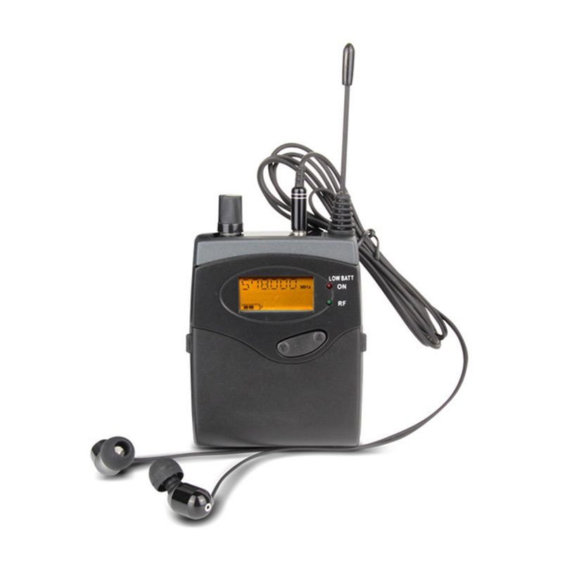 1pcs receivers for bk2050 in ear monitor wireless system stage equipments monitor in ear wireless musical instruments 2 receivers 60 buzzers wireless restaurant buzzer caller table call calling button waiter pager system