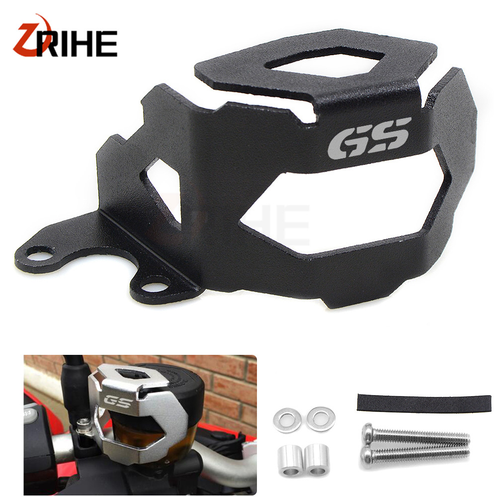 For BMW F700GS F700 <font><b>GS</b></font> F <font><b>700</b></font> <font><b>GS</b></font> 2013-2018 <font><b>2017</b></font> 2016 2015 Motorcycle Front & Rear Brake Fluid Reservoir Guard Protective Cover image