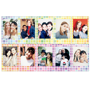 Image 3 - 20 Sheets Fujifilm Fuji Instax Mini 8 New Macaron+Stained glass Film For 11 7 8 9 50s 7s 90 25 Share SP 1 SP 2 Instant Cameras