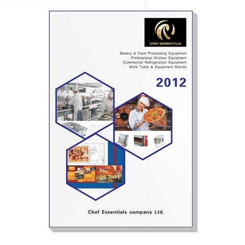 2012 Full color 180 pages printing catalog of Chef-essentials 2012