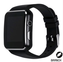 Gebogene Screen Bluetooth Smart Uhr Smartwatch Mode Uhr Für Android-Handy Mit Kamera Unterstützung Sim-karte Armbanduhr