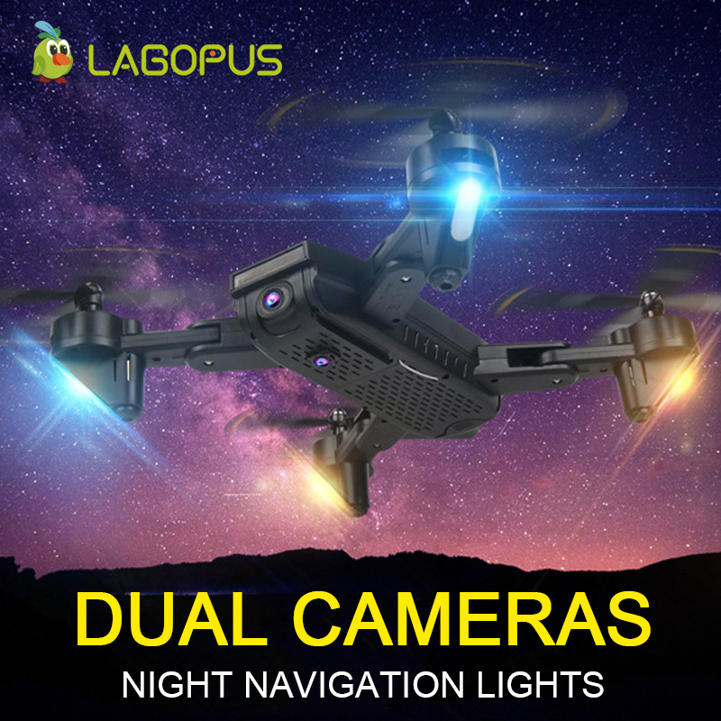 lagopus S169 2MP WIFI FPV Drones with 2 Cameras HD Mini drone LED light Folding Drone Gesture photo VS E58 XS809HW H37lagopus S169 2MP WIFI FPV Drones with 2 Cameras HD Mini drone LED light Folding Drone Gesture photo VS E58 XS809HW H37