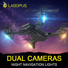 lagopus S169 2MP WIFI FPV Drones with 2 Cameras HD Mini drone LED light Folding Drone Gesture photo VS E58 XS809HW H37