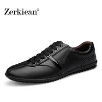 2016 New Fashion Men Genuine Leather Shoes Leisure Male Real Leather Oxford Comfortable Man Soft Driving