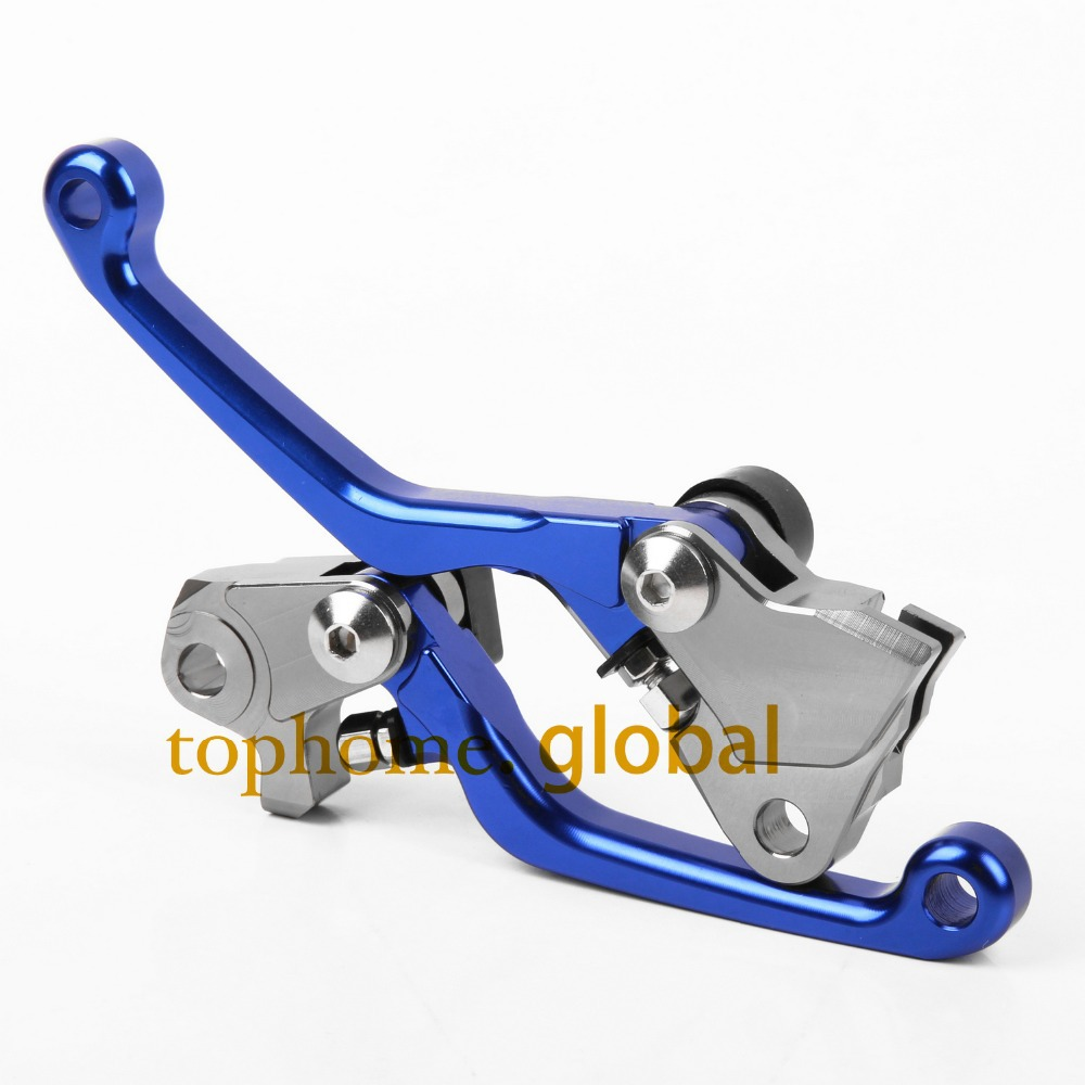 For Yamaha YZ426F YZ450F 2009 2010 2011 2012 2013 2014 2015 2016 2017 2018 one pair CNC Pivot Dirttbike Brake Clutch Levers