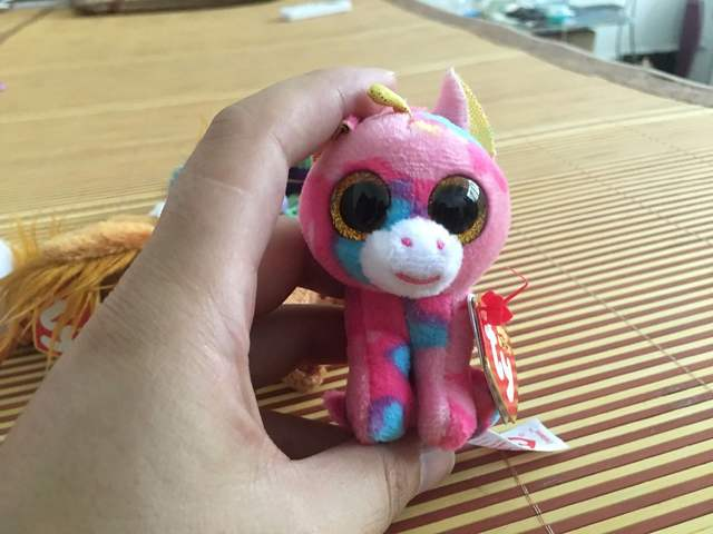 e2d408dc837 Ty Beanie Boos Plush Toys Beanie Babies Big Eyes Elephant Owl Avril Rabbit  Reg Pink Twigs