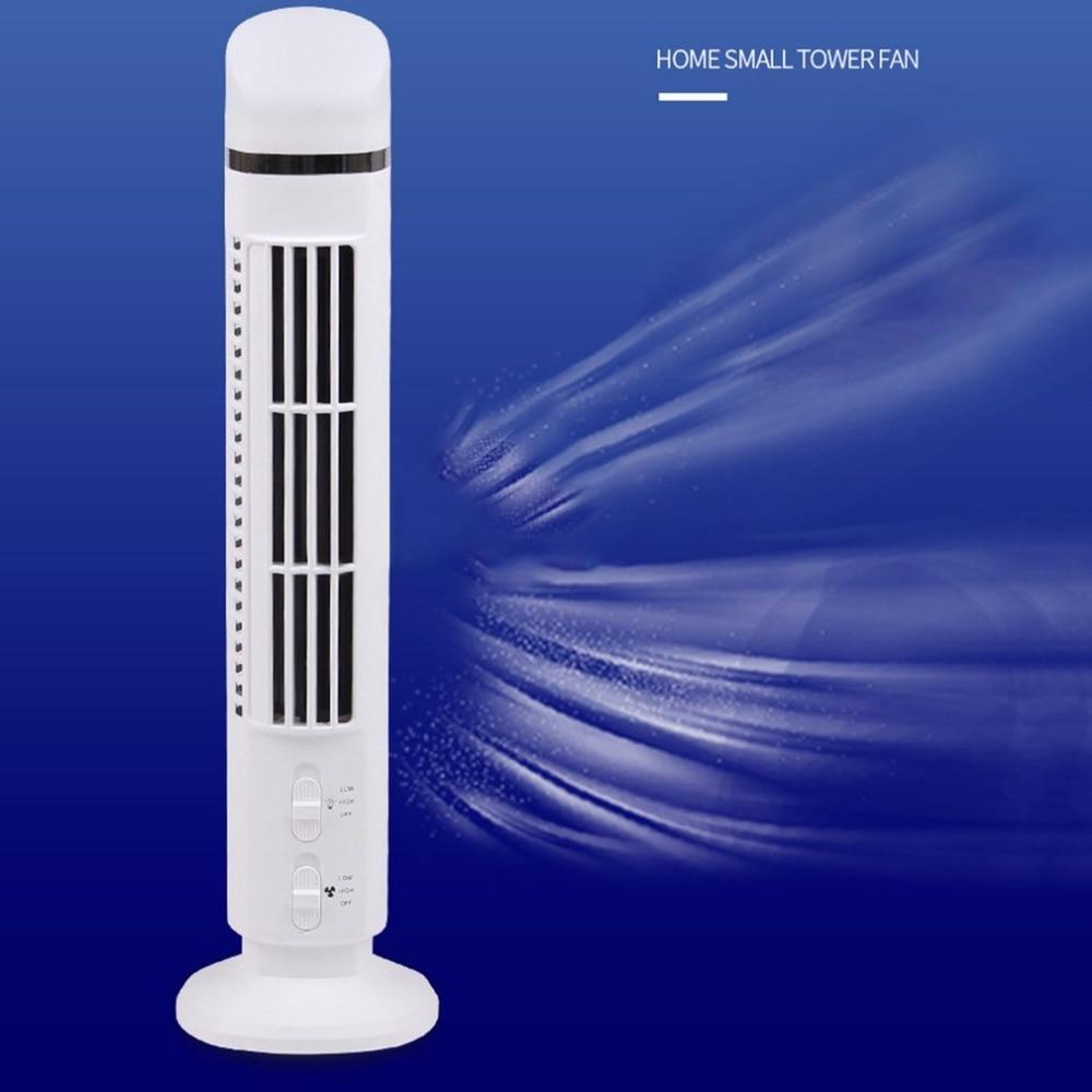 Tragbare Usb Mini Blattloser Ventilator Kein Blatt Klimaanlage Kühlung Kühler Schreibtisch Turm Fan Für Hause Schule Büro Verwenden Fans