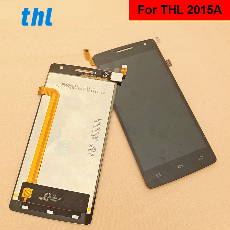 For THL 2015A LCD Display +Touch Screen+ Tools  Digitizer Assembly Replacement Accessories For Phone 5.0For THL 2015A LCD Display +Touch Screen+ Tools  Digitizer Assembly Replacement Accessories For Phone 5.0