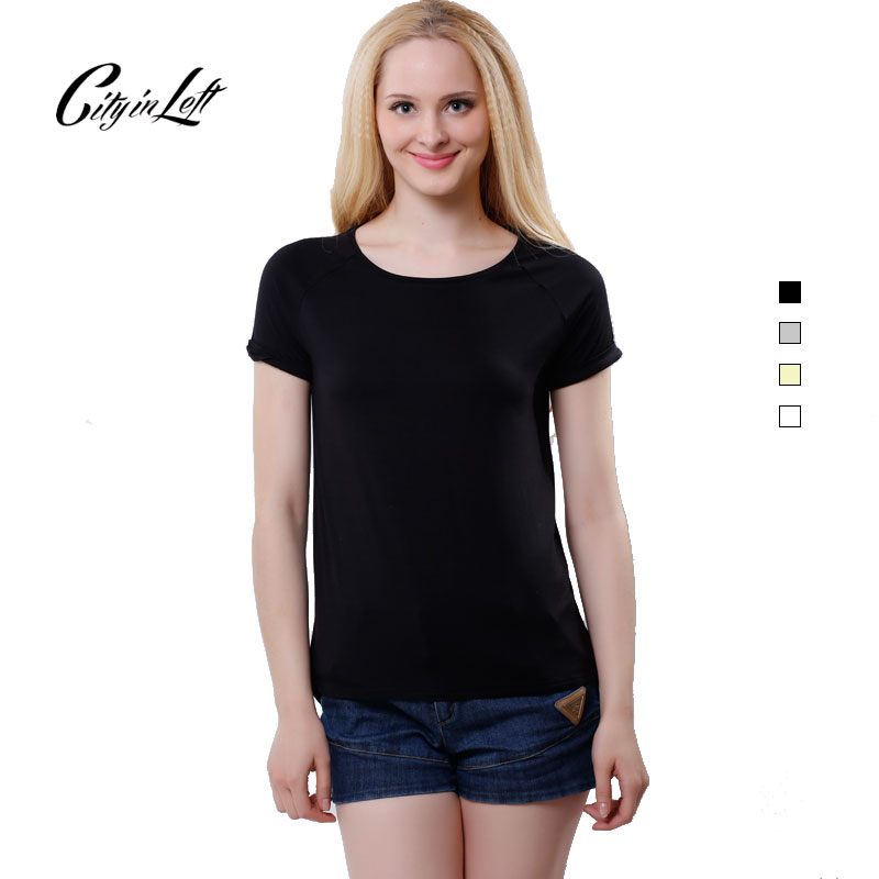 Online buy wholesale bamboo shirt women from china bamboo for Bamboo fiber t shirt