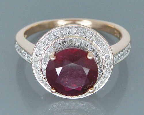 Vintage Natural Ruby Engagement Rings, Solid 14Kt Rose Gold Natural Red Ruby Ring,Genuine Ruby Jewelry путь ruby