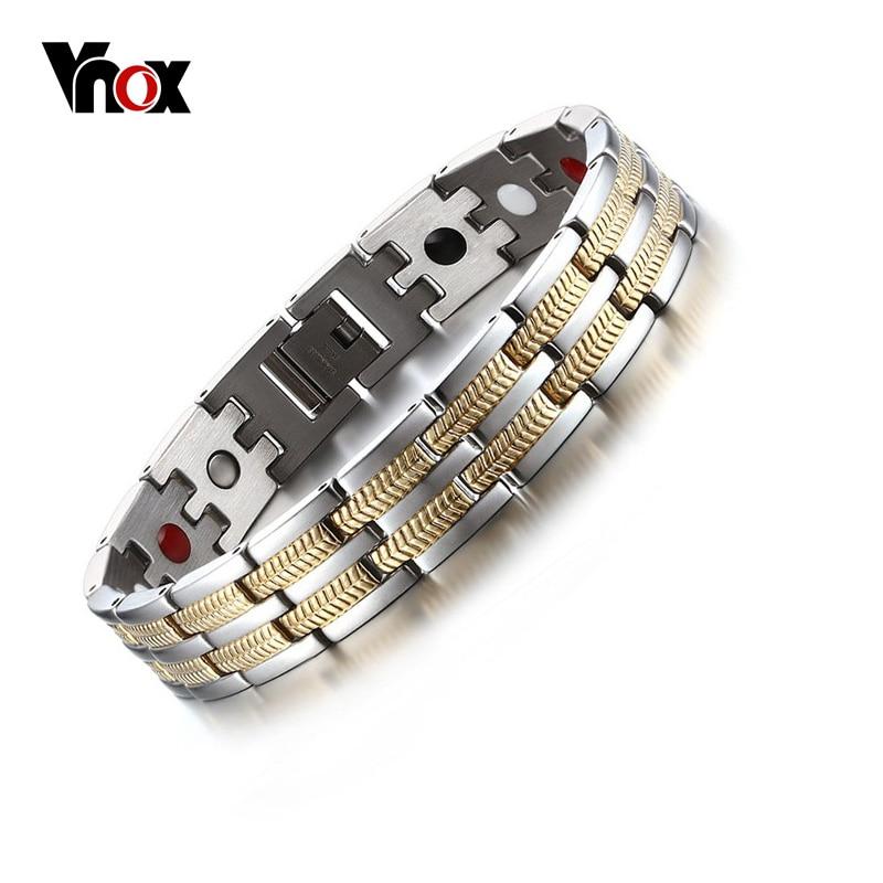 Серебряный браслет магнитный