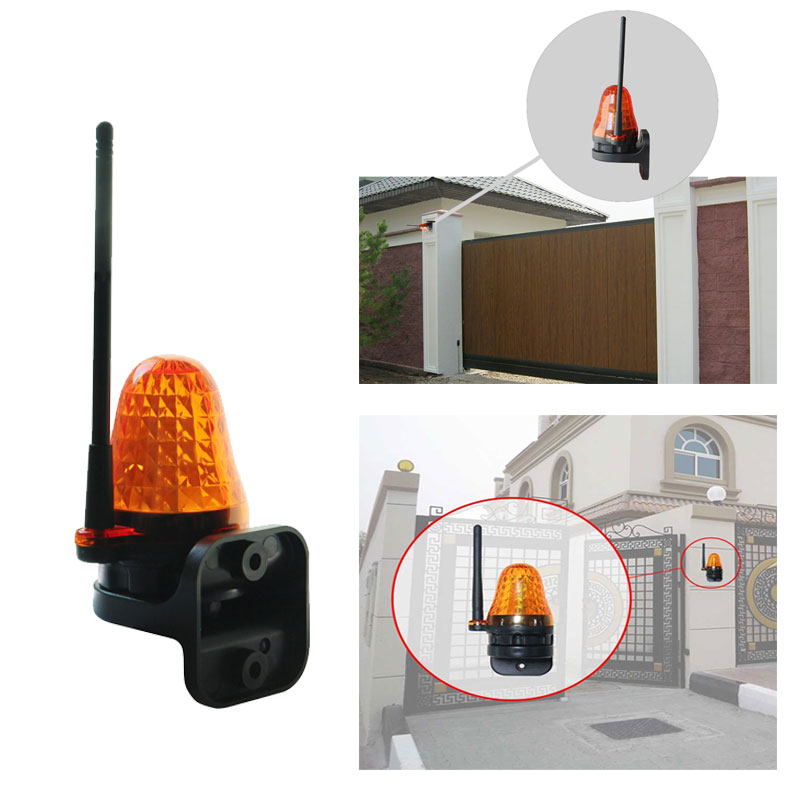 Universal 12V 220V LED Signal Alarm Light Strobe Flashing Emergency Warning Lamp wall mount Home outdoor