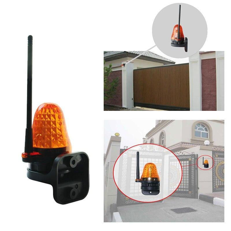 Universal 12V 220V LED Signal Alarm Light Strobe Flashing Emergency Warning Lamp Wall Mount Home Outdoor