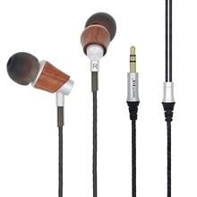 2017 Гц hzsound M0005 новейшая HiFi eraphones древесины наушники высокое качество стерео наушники музыка Наушники для игрока Mobile