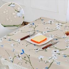 חדש מפות מפת שולחן מפת שולחן אמנות בד עמיד למים ושמן עמיד חד פעמי מפות כיכר מוצרי טקסטיל
