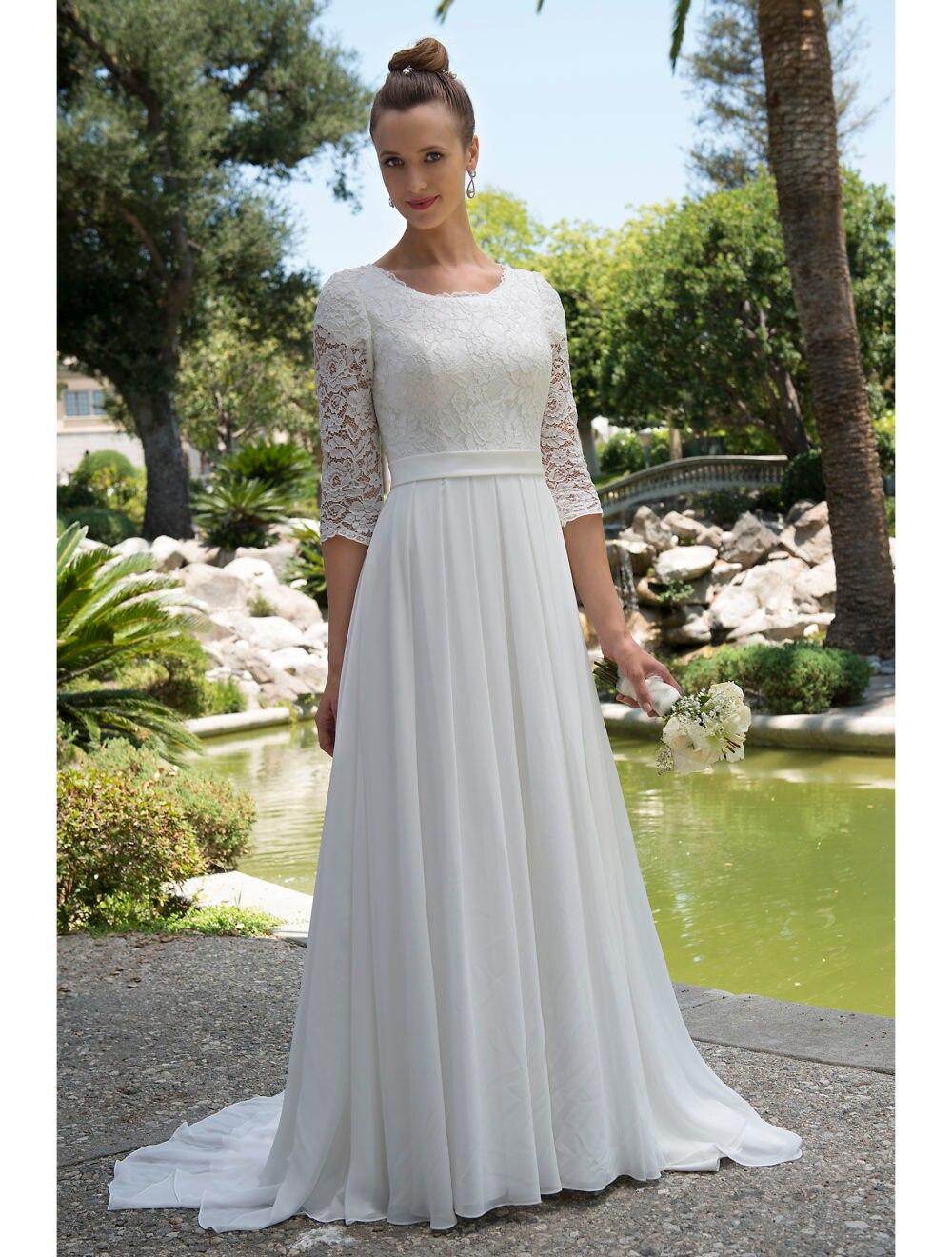 Beach Wedding Dresses for Older Brides | Dress images
