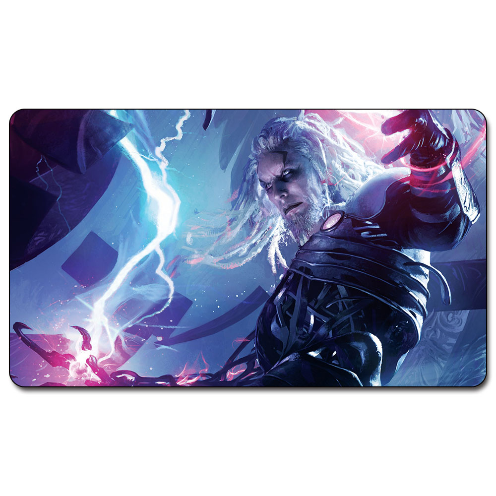 Magic trading card game Playmat: TEZZERET - PLANESWALKERS art playmat for trading card game 60cm x 35cm (24 x 14) Size image