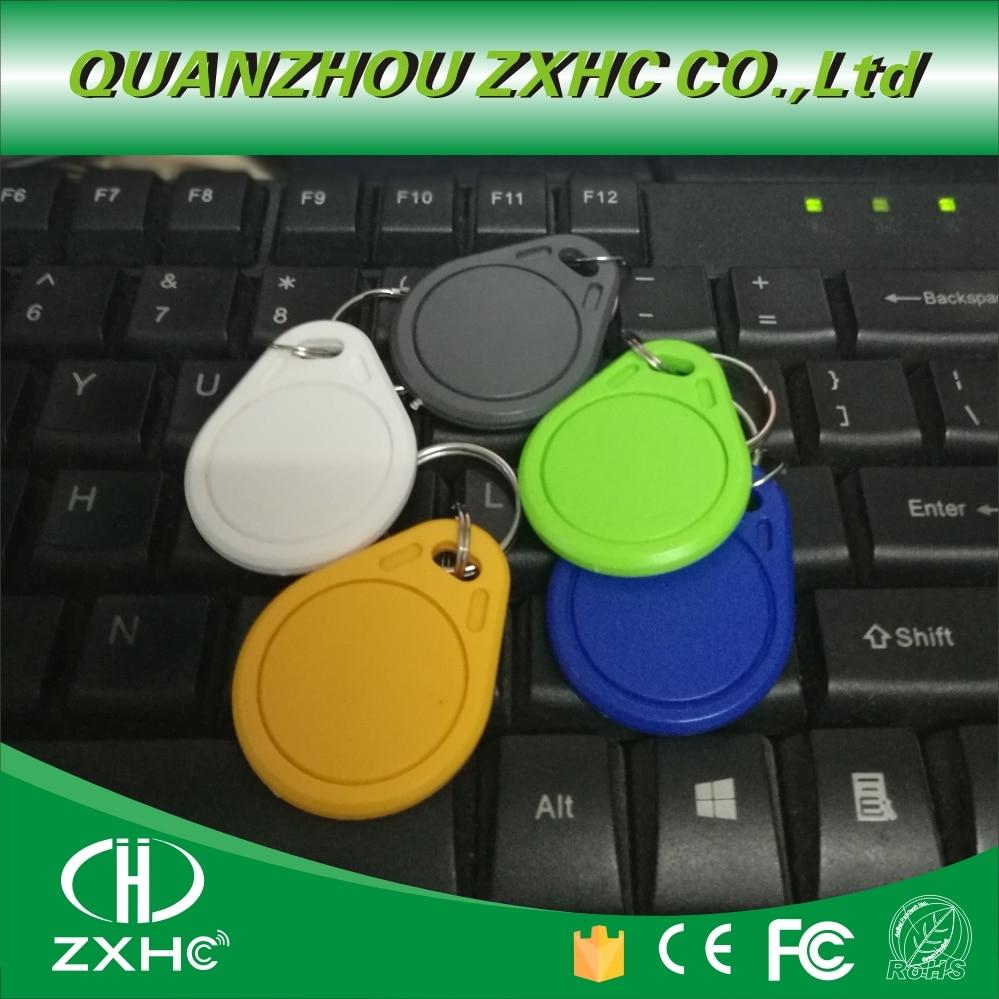 (10PCS) New Arrived NTAG215 NFC Keyfob Key Fob Tag Forum Type 2