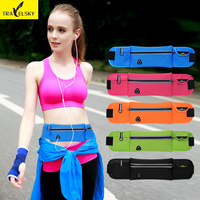 Multi Sport Waist Bag Waterpoof Nylon Men And Women Outdoor Bags Fitness Riding Invisible Personal Security