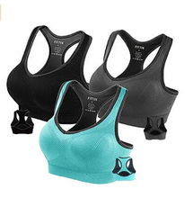 Flying ROC Women Sports Bras Padded Seamless High Impact Support for Yoga Gym Workout Fitness