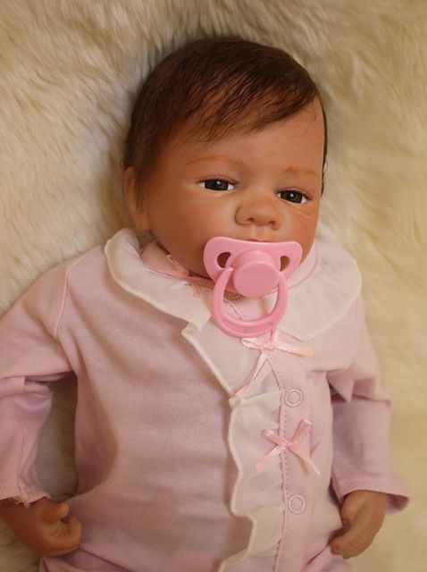 """20"""" Real baby doll reborn for sale lifelike silicone vinyl"""